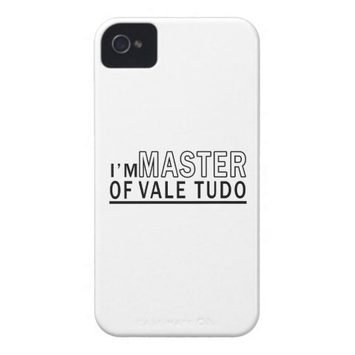 I am master of Vale Tudo iPhone 4 Cover