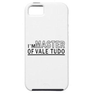 I am master of Vale Tudo iPhone 5 Cover