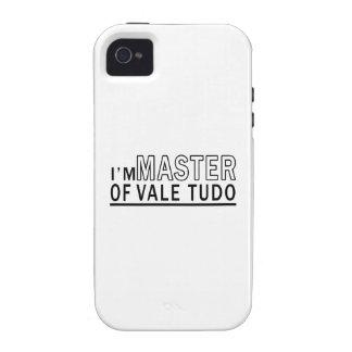 I am master of Vale Tudo Vibe iPhone 4 Cover