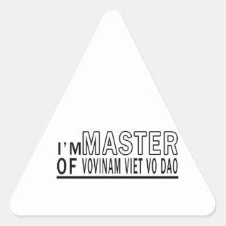 I am master of Vovinam Viet vo Dao Stickers