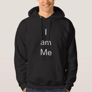I am me Hoodie Black