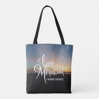 I Am Mermaid, I make Waves - Bag