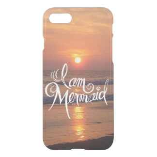 I Am Mermaid - iPhone Case