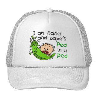 I Am Nana And Papa s Pea In A Pod Hats