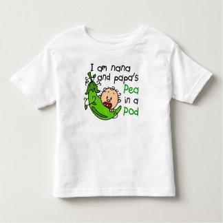 I Am Nana And Papa's Pea In A Pod Shirts