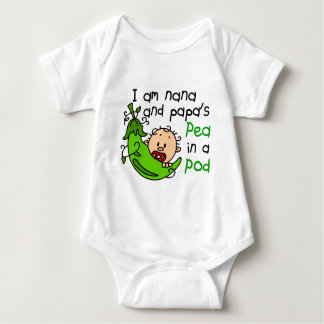 I Am Nana And Papa's Pea In A Pod T-shirts