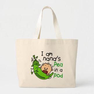 I Am Nana's Pea In A Pod 1 Jumbo Tote Bag