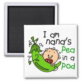 I Am Nana's Pea In A Pod 1 Square Magnet