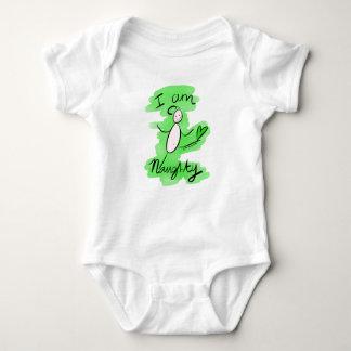 'I am Naughty' Baby Bodysuit