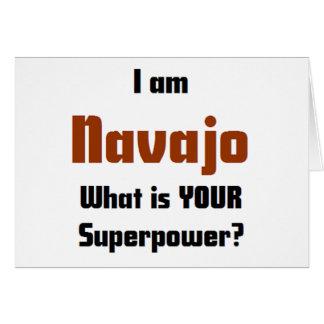 I am Navaho Greeting Card