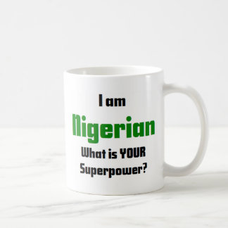 i am nigerian coffee mug