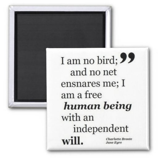 I Am No Bird Fridge Magnet