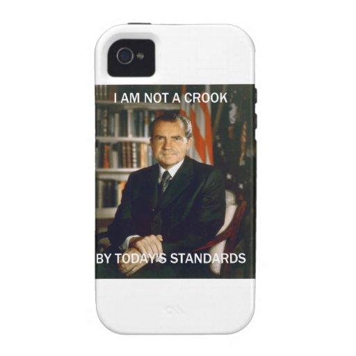 i am not a crook Case-Mate iPhone 4 covers