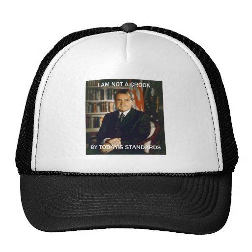 i am not a crook trucker hats