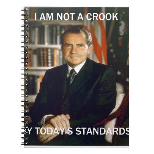 i am not a crook note books