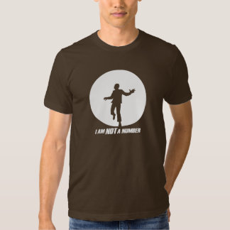 I am NOT a number! (white) Tee Shirts