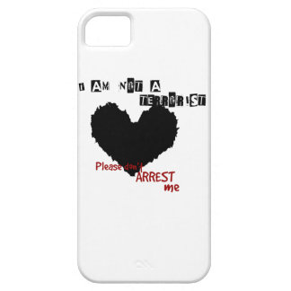 I am not a Terrorist iPhone 5 Cases