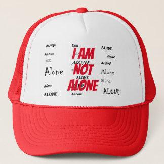 I Am Not Alone Trucker Hat