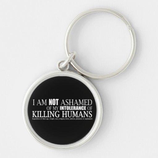I Am Not Ashamed Key Chain