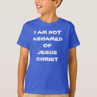 i am not ashamed of Jesus Christ T-Shirt