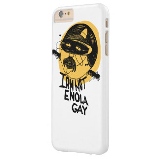 """I am not Enola Gay"" yellow - iPhone 6/6s Plus Barely There iPhone 6 Plus Case"