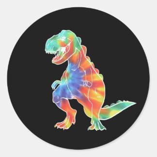 I AM NOT EXTINCT Dinosaur Logo Stickers