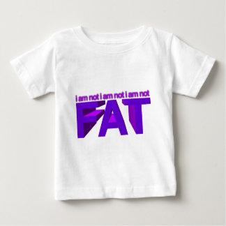 I am not fat! baby T-Shirt