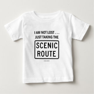 I Am Not Lost ... Just Taking The Scenic Route Tshirts