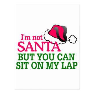 I am Not Santa Postcard