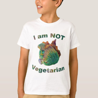 I Am Not Vegetarian Kids' T-Shirt