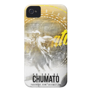 I am of chumato - Outline Yellow iPhone CASE Case-Mate iPhone 4 Cases
