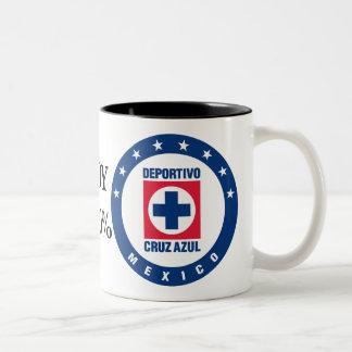 I am of the Blue Cross Two-Tone Coffee Mug