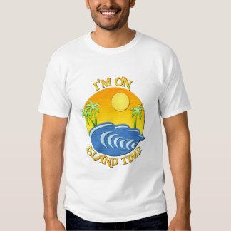 I Am On Island Time Tee Shirt