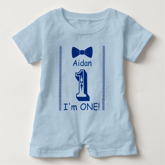 I am ONE! Baby Bodysuit