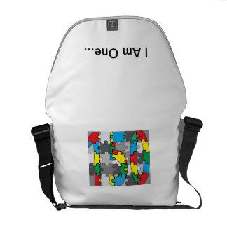 I Am One Bag Courier Bag