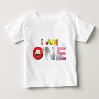 i am one gifts for children tee shirt