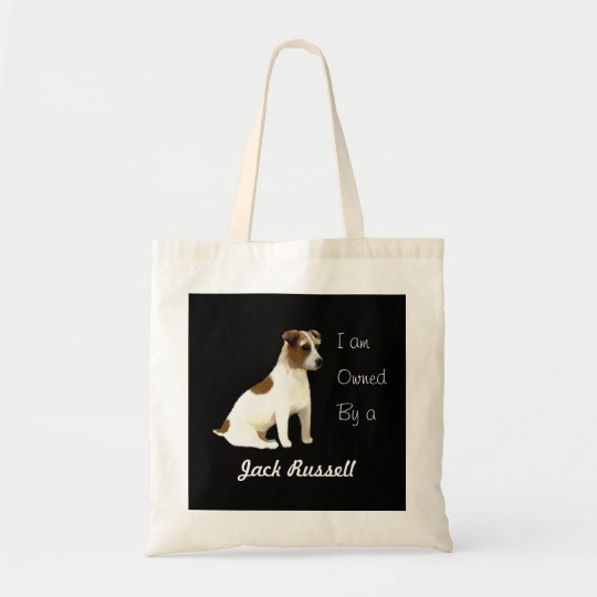 I am Owned by a Jack Russell Tote