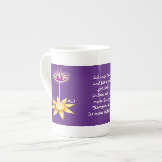 """""""I am"""" period of fasting Tea Cup"""