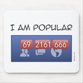 i am popular mouse pad