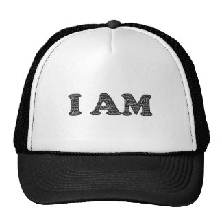 I Am- Positive Affirmations Hat
