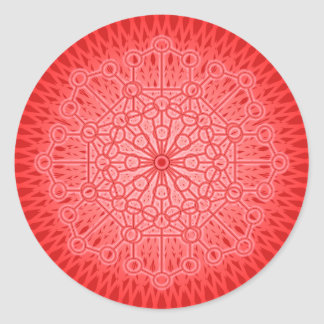 I AM POWER: Muladhara - The Root Chakra Classic Round Sticker
