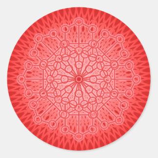 I AM POWER: Muladhara - The Root Chakra Round Sticker