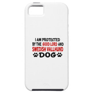 I Am Protected By The Good Lord And Swedish Vallhu iPhone 5 Case