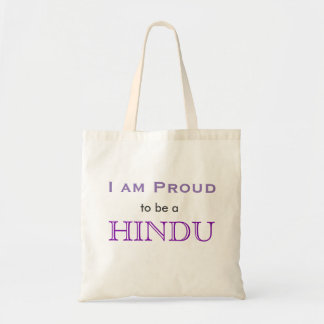 I am proud to be a Hindu tote