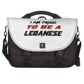 I am proud to be a Lebanese Laptop Computer Bag