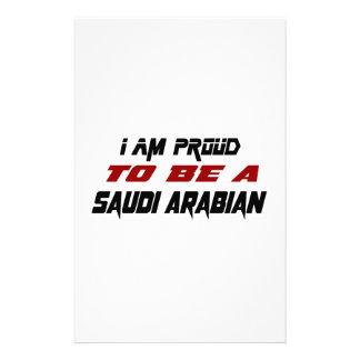 I am proud to be a Saudi Arabian Customised Stationery
