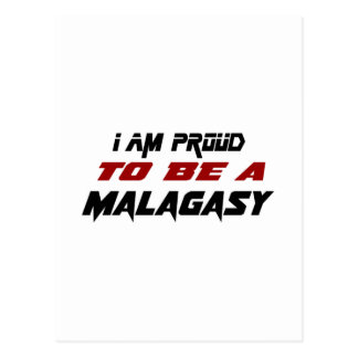 I am proud to be aMalagasy. Postcard