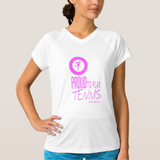 I am Proud To Play Tennis T-Shirt
