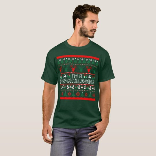 I Am Psychologist Christmas Ugly Sweater