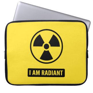 I am Radiant Laptop Sleeves